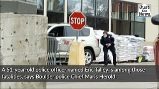 Shooting at Colorado supermarket leaves 10 dead, including a police officer