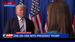 One-on-One with President Trump following announcement of class action lawsuit against Big Tech