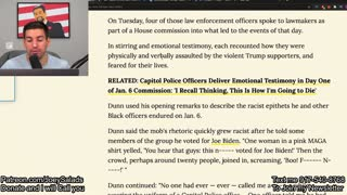 317. US Capitol Police LIE During Testimony?