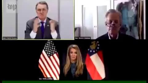 Senator David Perdue trashed President Trump