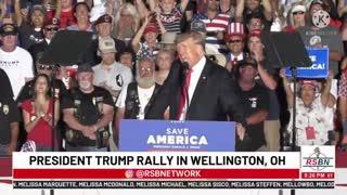 POTUS Trump Ohio Wellington MAGA Rally 26 June 2021