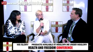 Leigh Dundas: Health and Freedom Conference Tulsa Day 1