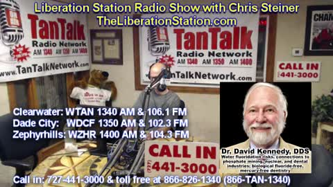 August 31, 2021 Liberation Station Radio Show with Chris Steiner (TheLiberationStation.com)