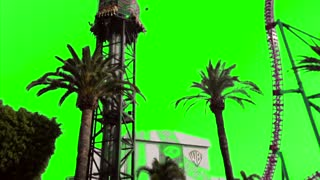 Green Screen Double Shot and Roller Coaster for Video Creators