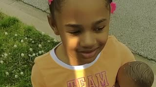 Daughter Makes Odd Wish on Dandelion