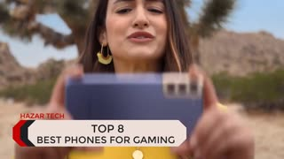 TOP 8 BEST GAMING PHONES 2021