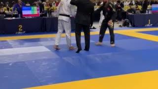 Professor Beto's IBJJF MASTERS WORLDS First Fight
