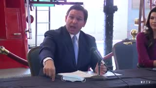 DeSantis LOSES IT On Reporter and Makes Her Regret Everything