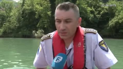 """Migranti ukrali čamac, nasred Drine ih uhvatila """"matica"""""""