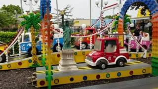Spencer driving a truck at Adventureland 20170528_135158