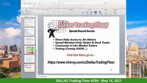 Dallas Trading Floor LIVE - MAY 14,2021