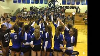 2017 Grandview Volleyball Varsity Highlights