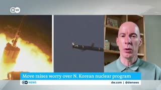 North Korea test fires long range cruise missile.