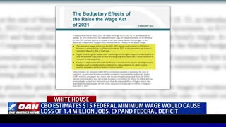 CBO estimates $15 federal minimum wage would cause loss of 1.4M jobs, expand federal deficit