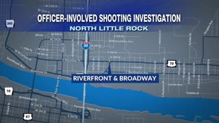 North Little Rock Police Investigating Officer Involved Shooting Near Riverfront