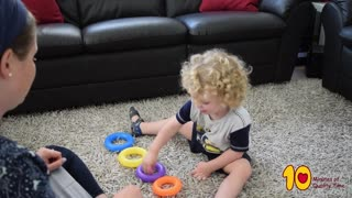 Learning Activities for Toddlers At Home - 4 Simple Pom-Pom based Activities