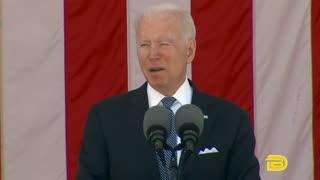 Biden Delivers Memorial Day Address