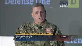 """General Mark Milley: China is """"not an enemy"""""""
