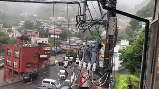 20 people missing after a major landslide in Japan.