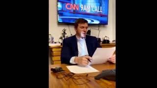 (1) Project Veritas James O' Keefe Live streams CNN President Jeff Zucker's 9am Call
