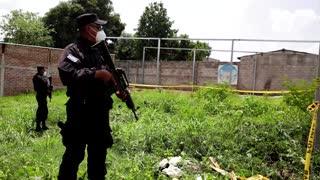 Dozens found dead at El Salvador ex-cop's home