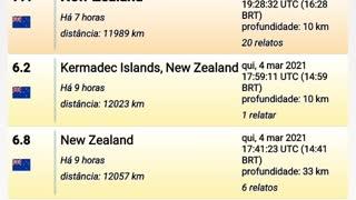 Earthquakes, terremotos, Erdbeben, tremblements de terre...