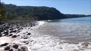 Akaisha's Morning Walk on Chacala Beach