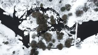 Aerial Footage Of An Iceland