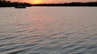 Sunset reds