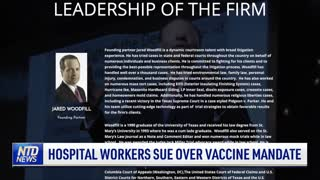 Hospital Workers Sue Over Vaccine Mandate