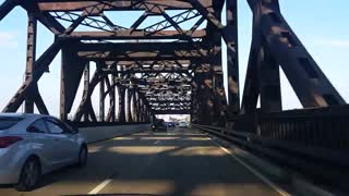 From Newark Airport U S Route 1&9 To Pulaski Skyway Bridge