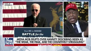 Media attacks Hannity for critiquing Biden's cognitive abilities