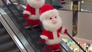 Santa Claus shopping