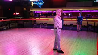 West Coast Swing @ Electric Cowboy with Jim Weber 20210509 192400