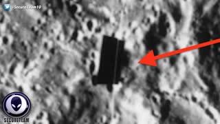 Huge 'X' Shaped Alien Installations On Moon Near Apollo Site