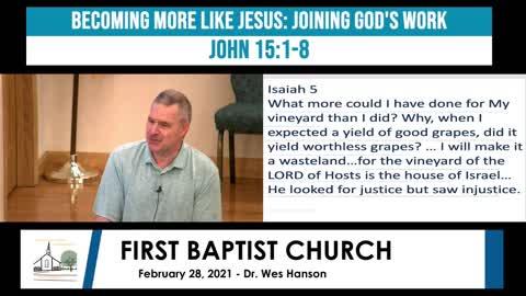 Adult Sunday School - February 28, 2021