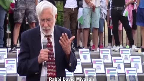 David Mivasair recited Kaddish for dead Palestinians, including Hamas, Islamic Jihad fighters