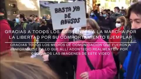 7_11_20 🚔📢¡MARCHA PACÍFICA EN MADRID DE POLICÍAS POR LA LIBERTAD!🚔📢