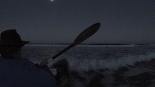 Kayak Night Launch