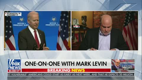 MARK LEVIN UNLEASHES ON THE BIDENS!!