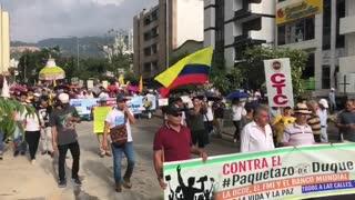 Paro 4D Video 2 San Pio Bucaramanga
