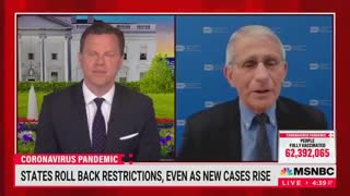 Fauci Stalls, Struggles to Explain Why Texas Cases Are Dropping