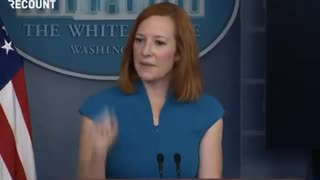 """""""No."""" Psaki's Response to This Question About Dr. Fauci MELTS the Internet"""