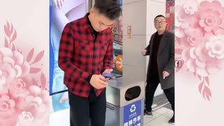 funny video man
