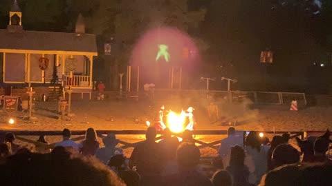 Fire Show at The Texas Renaissance Festival