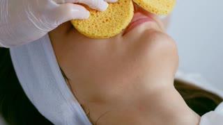 Facial massage process