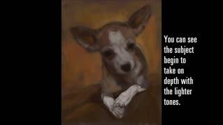 Digital Pet Portrait - Sherlock