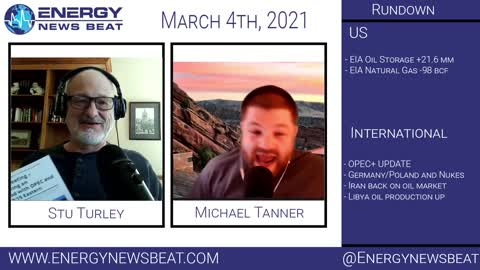Oil Goes Wild - The Daily Energy News Beat Markets show 2-23