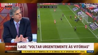 """Pedro Guerra: """"Árbitros na dúvida beneficiam o Benfica."""""""