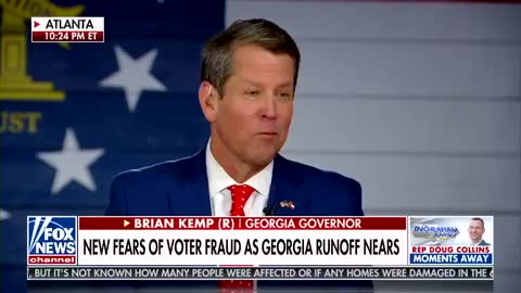 You will be SHOCKED Georgia Gov. Kemp calls for 'signature audit' after new surveillance